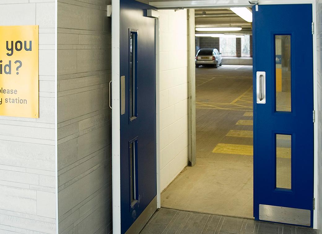 Idm doors ltd steel security doors for Double security doors