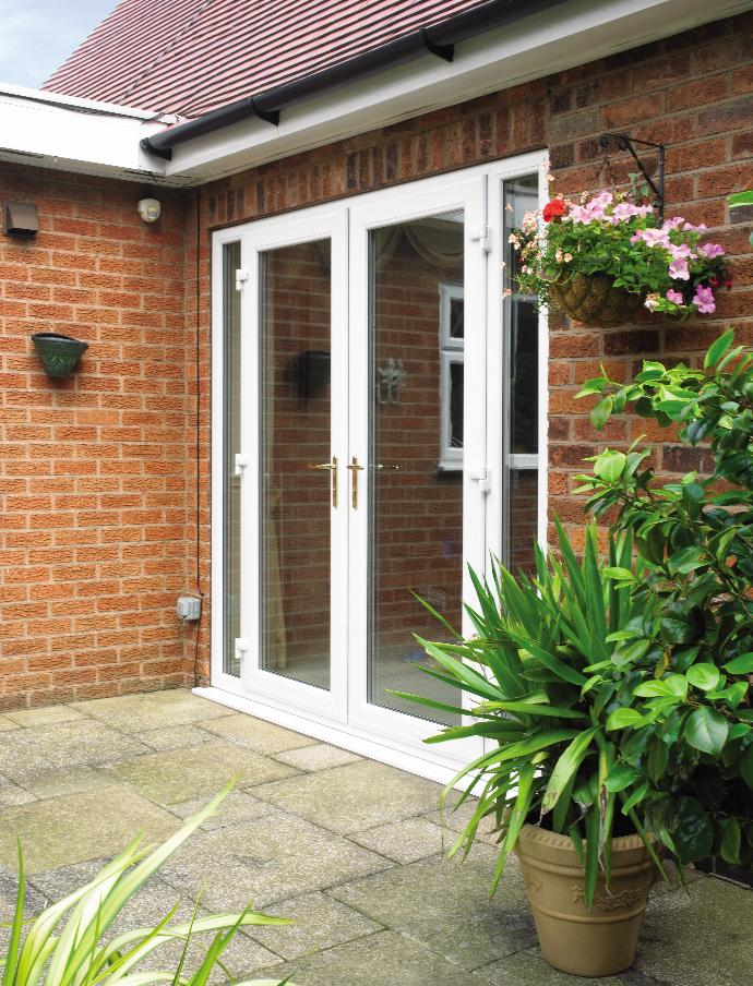 Upvc French Doors With Sidelights Part - 30: Get A Free Conservatory Quote