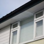 Upvc windows and roofline