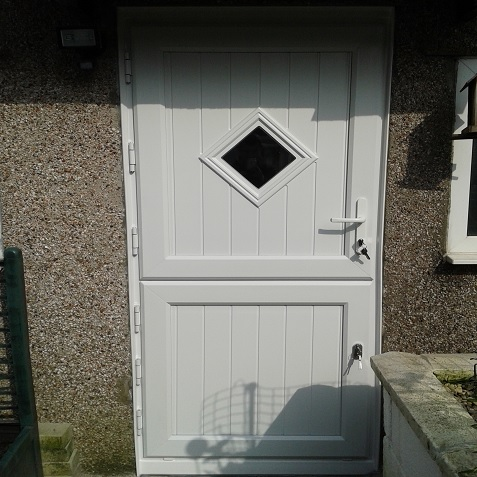 upvc residential door